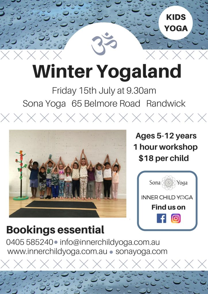 Winter Yogaland Poster